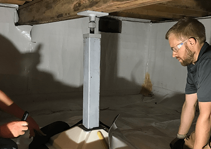 Crawl Space Jacks in Capeville